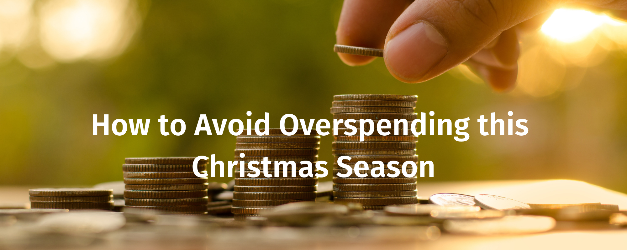 How to Avoid Overspending this Christmas Season