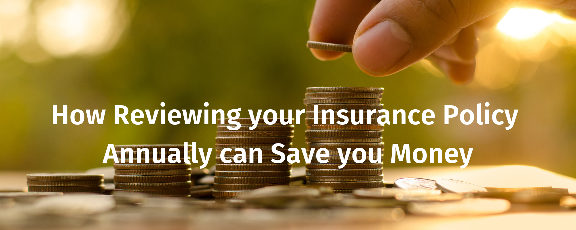 How Reviewing your Insurance Policy Annually can Save you Money